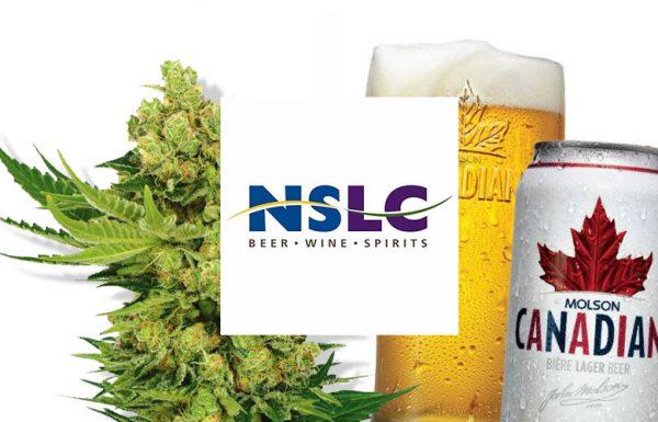 Nouvelle-Écosse: La marijuana présente dans les magasins de vente d'alcool