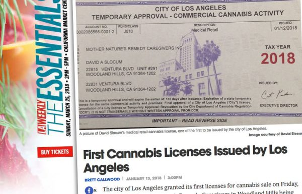 Los Angeles attribue les premières licences de la loi Prop. 64