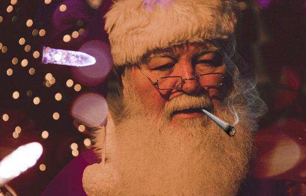 Le Père Noël soutient la légalisation du cannabis