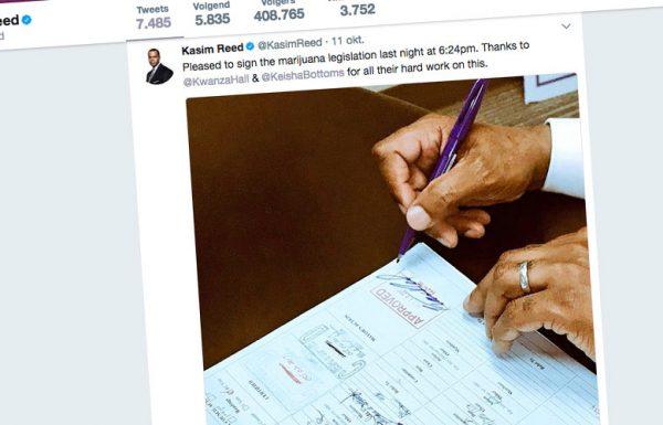 Atlanta: le maire signe une ordonnance de dépénalisation