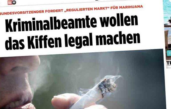 L'Association des officiers de police Allemande s'est dite favorable à la fin de l'interdiction du cannabis.